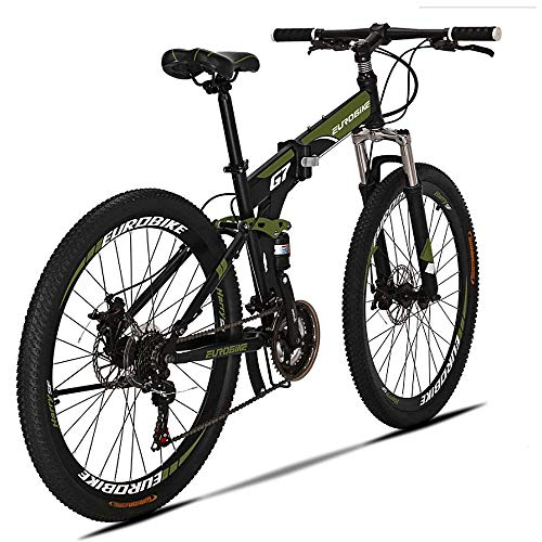 Extrbici G7 Mountain Bike 21 Speed Steel...