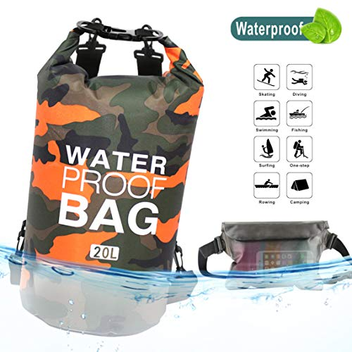 Idefair Dry Waterproof Bag, Backpack...