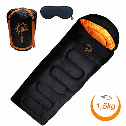 Solennoire Sac de couchage Camping,...