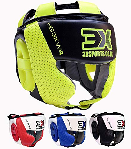 3X Professional Choice Boxing MMA Helmet...