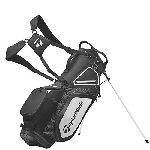 TaylorMade TM20Stand8.0BagBlackWhtChrcl...