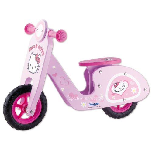 HELLO KITTY SCOOTER-WOODEN BIKE...