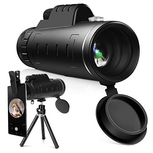 Télescope monoculaire YISSVIC 12 X 55 HD...