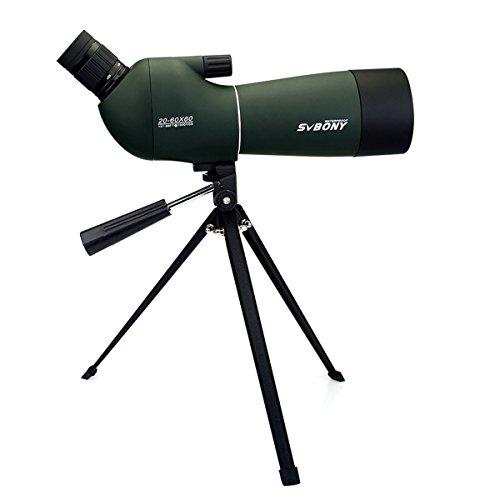 Télescope de Svbony 20-60 x 60 Zoom...