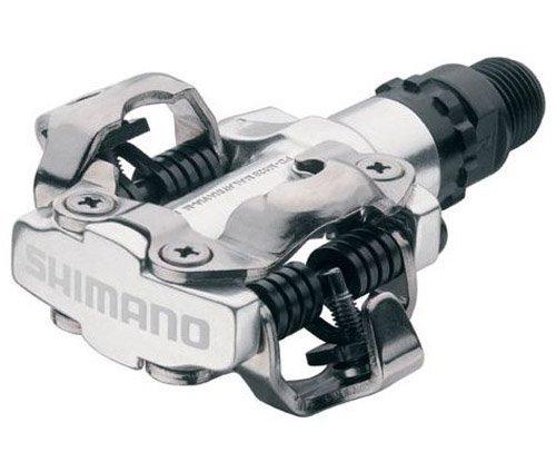 Pédales de VTT, Shimano M520, SPD, argent
