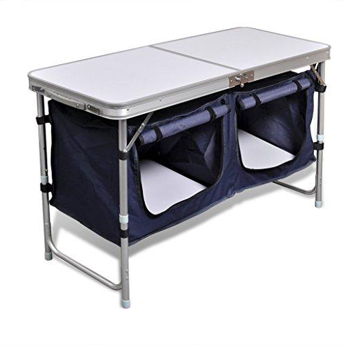 Cabinet de camping pliable Anself avec...