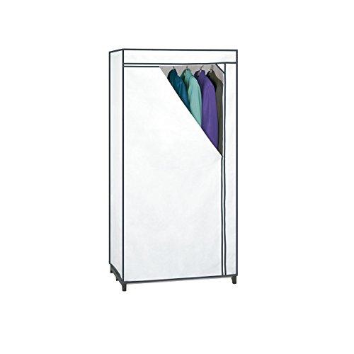 Placard en tissu Rayen, blanc, 155 x 77...