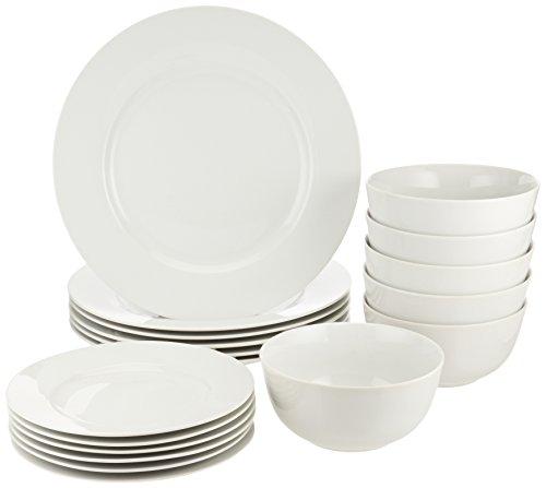 AmazonBasics - Vaisselle pour 6 personnes...
