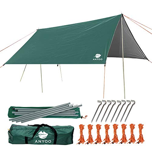 La tente de plage Anyoo Ripstop Rain Tarp...