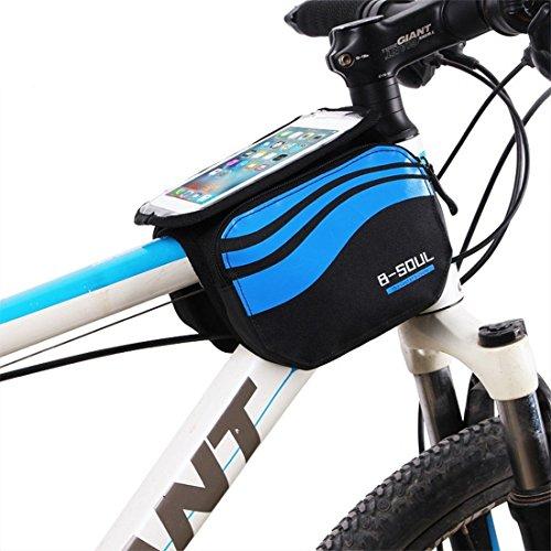zjchao 2-Sided Front Bike Bag...