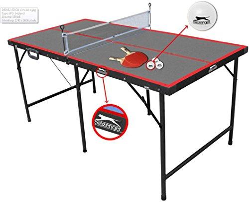 Slazenger - Table de ping-pong pliante,...