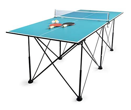 Tennis de table compact Leomark Mesa de...