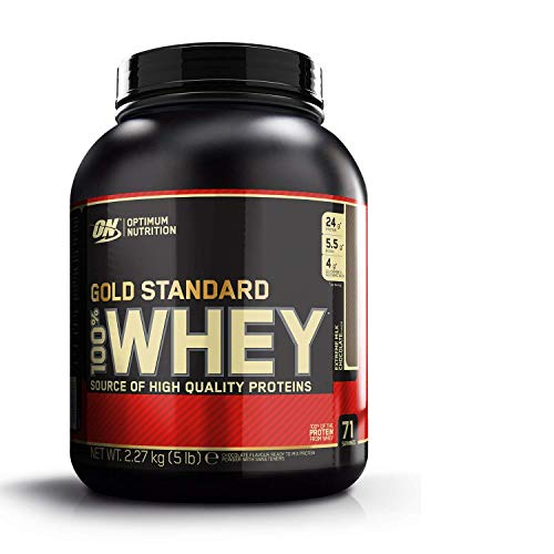 Une nutrition optimale sur la norme Gold Standard 100%...