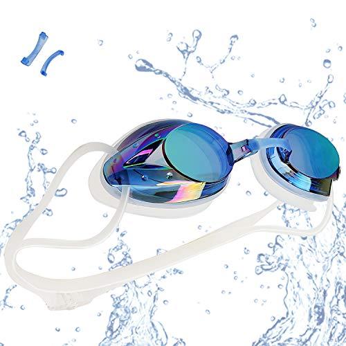 lunettes de natation avec veto, anti-buée...