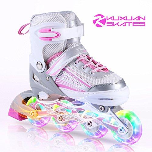 Les patins à roues alignées Kuxuan pour les enfants...