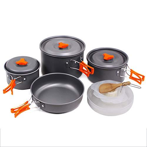 SKYSPER Ustensiles de cuisine Set de camping de...