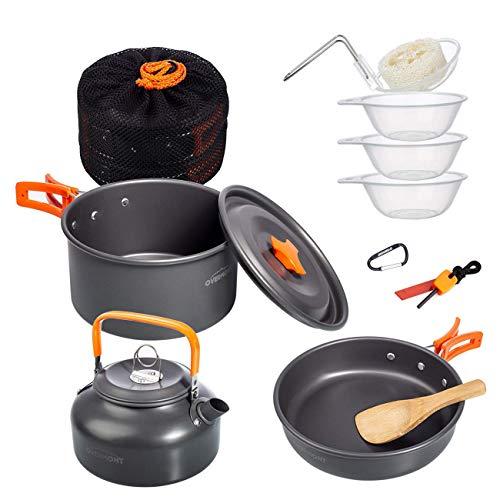 Kit d'ustensiles de cuisine Overmont 11Pcs...