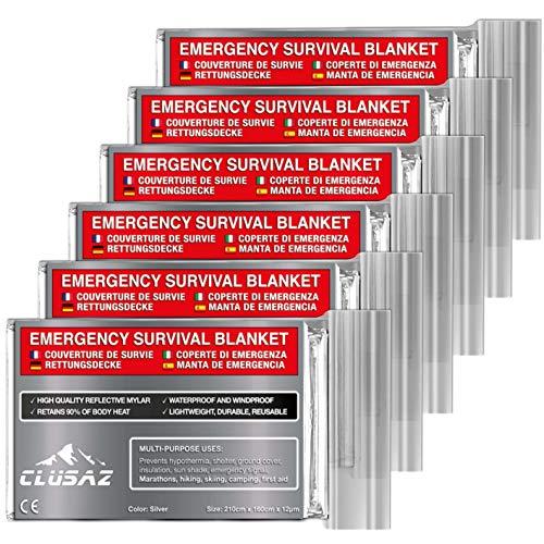 Couverture d'urgence CLUSAZ Silver XL...