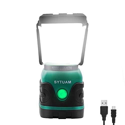 Lanterne de camping rechargeable SYTUAM,...