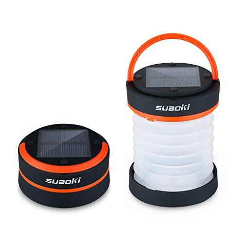 SUAOKI - Mini lanterne solaire à LED pour le camping...