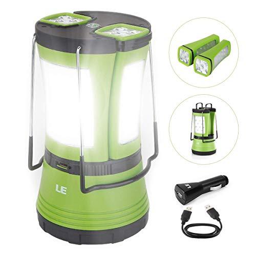 LE Lumière de camping à LED USB...