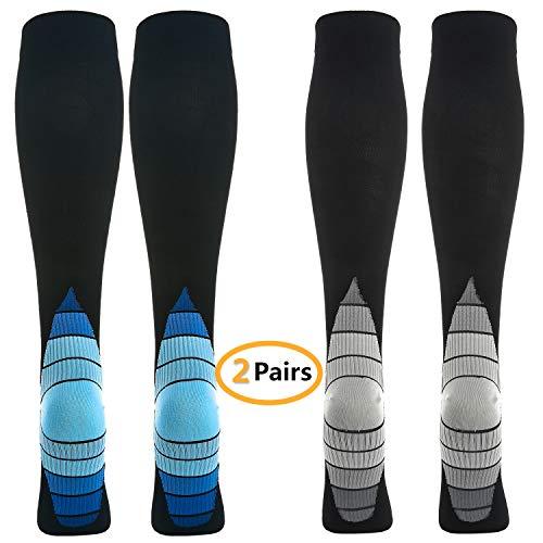 2 paires de chaussettes/stocks de compression...