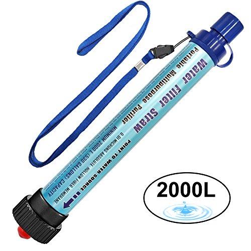 Filtre à eau personnel DeFe 2000L...