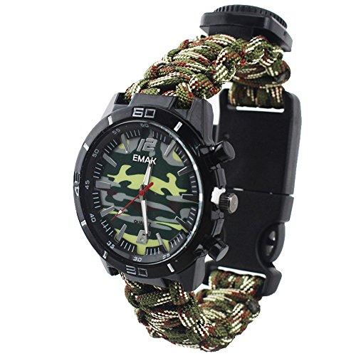 La survie des montres-bracelets de camouflage...