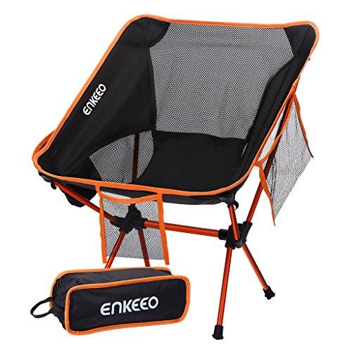 Chaise de camping ultralégère ENKEEO...