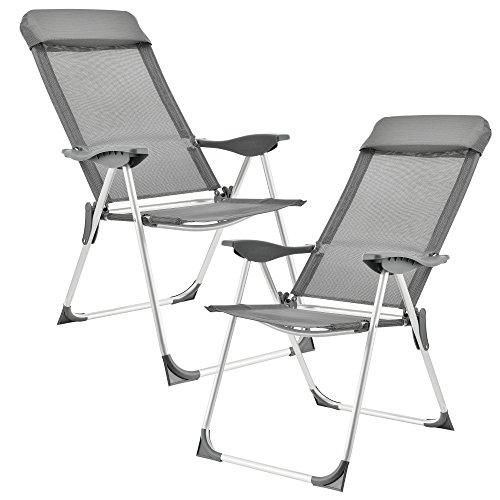 (casa.pro) Jeu de 2 chaises de camping...