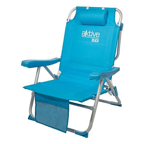 Aktive 53983 Chaise pliante à dos...