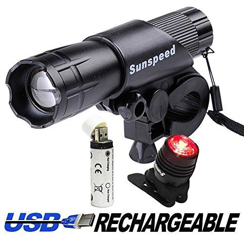 Lampe de poche à vélo Sunspeed LED...