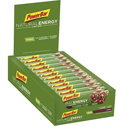 PowerBar Fruits à énergie naturelle Canneberge...