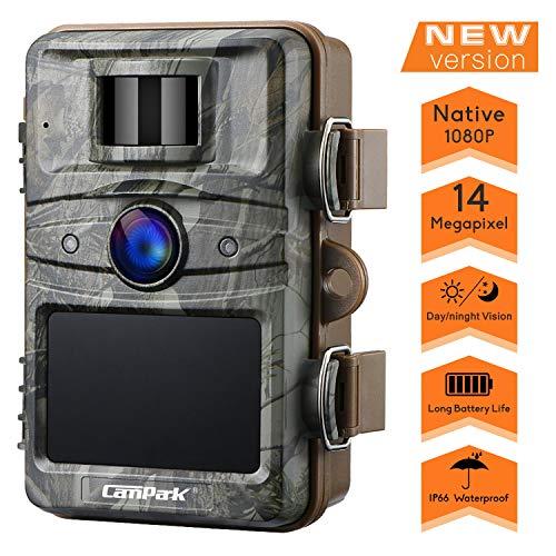 Caméra de chasse Campark 14MP 1080P HD...