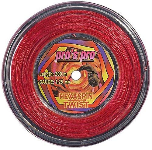 Cordage de tennis professionnel Hexaspin Twist 1,25mm...