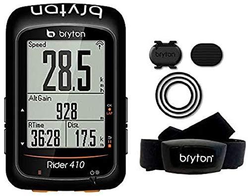 Bryton Rider 410T GPS Cycling, Noir,...