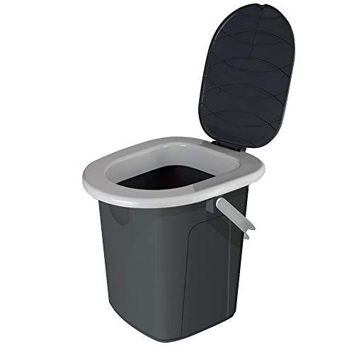 Toilettes Branq avec couvercle pour le camping ou...