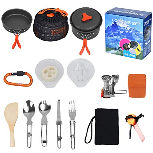 Kit de camping Outtybrave 17Pcs...