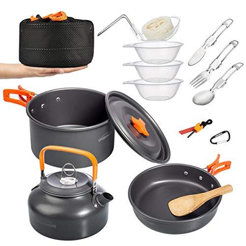 Kit d'ustensiles de cuisine Overmont 14Pcs...