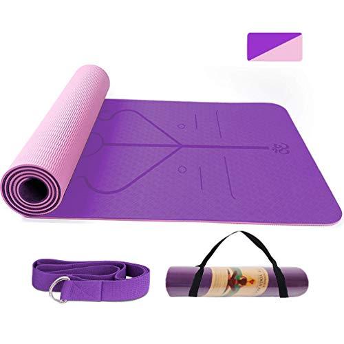 BUDDYGO Tapis de yoga antidérapant...