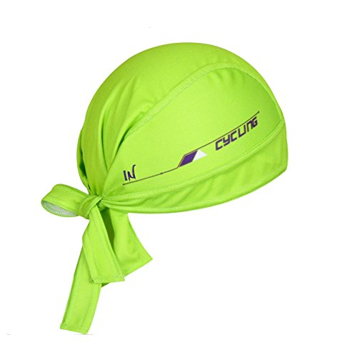 Chapeau de cycliste ShopINess Bandana (vert)