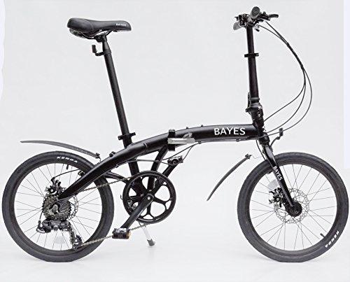 Bayes - Vélo pliable en aluminium,...