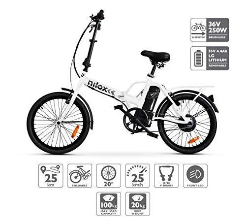 Nilox ebike X1- Bicycle Elctrica,...