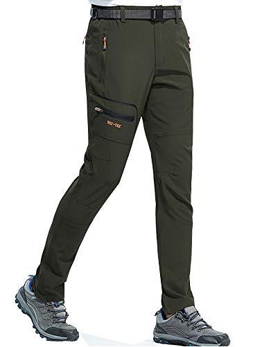 DAFENP Pantalon de trekking pour homme...
