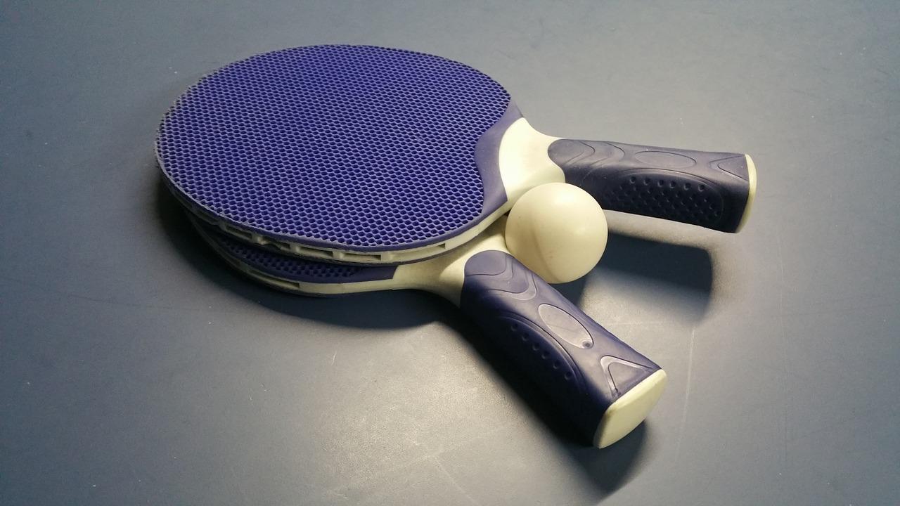 Top 5 des raquettes de ping-pong