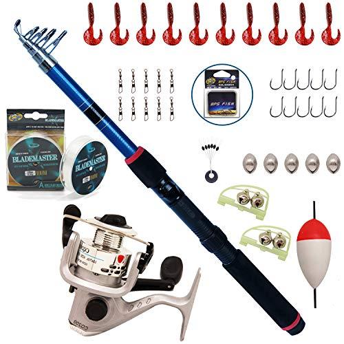 BPS Fishing Combo Kit Incluant la canne à pêche...