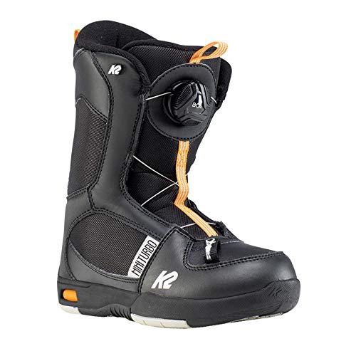 K2 Mini Turbo Black Snowboard Boots,...