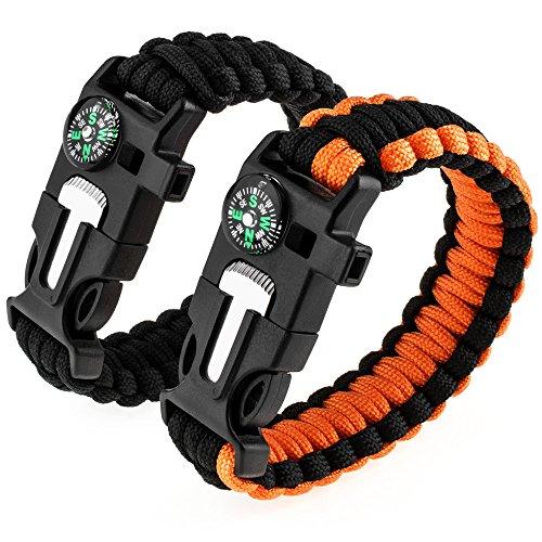 Bracelet de survie Zacro avec...