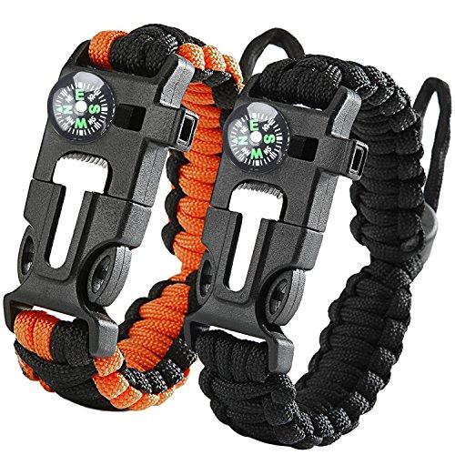 iRainy (2Pack) Bracelet ajustable ...
