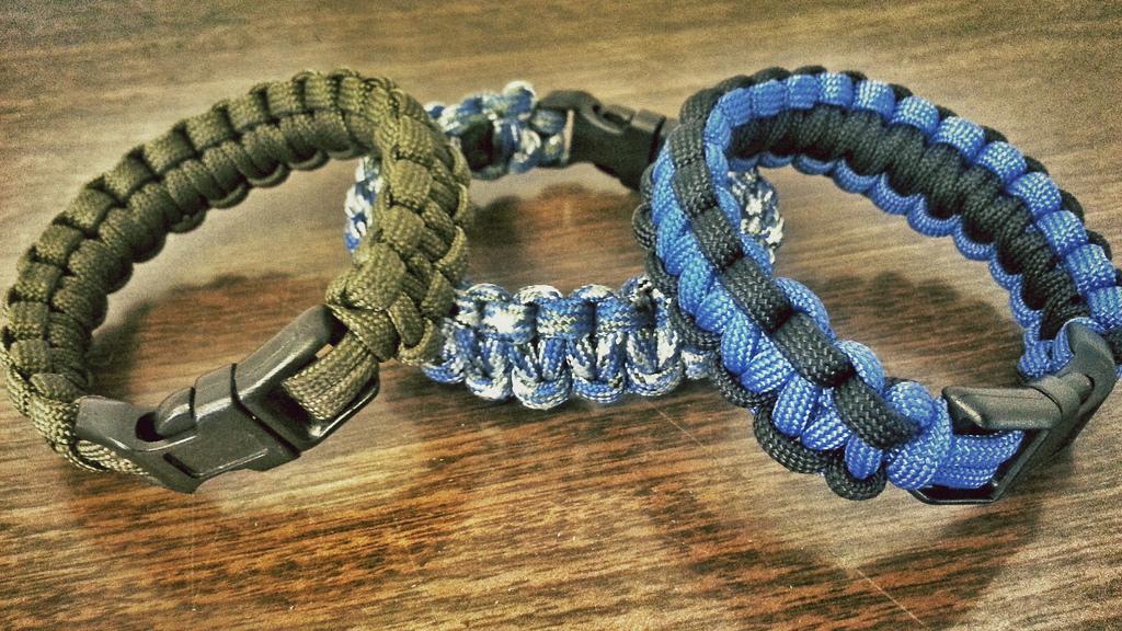 Top 7 des bracelets de survie pour les activités de plein air